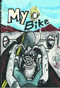 my bike a graphic novel, leeron morraes, beansprout books